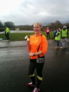 Kenley Airfield 10km run completed