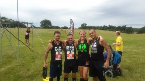 Chris, Vince, Myself and Dom after finishing the race