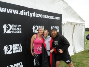 "Myself with OCR royalty Faye Caley and Dirty Dozen Chief Doug ""The beard"" Spence"