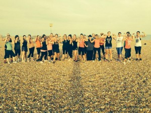Picture taking from the RPCC Facebook page from Tuesdays Beachfit class