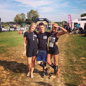 Myself, Chris and Linda after they had finished the 6km race