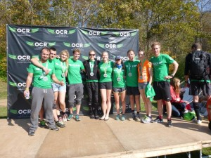 Some of the UK contingent at the OCRWC