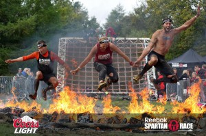 Vince, Myself and Rick jumping the flames