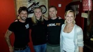 Meeting Joe De Sena in a pub. With Lauren Edwards-Fowle and Chris Williams