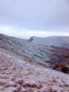 Another shot of some of the views over Pen Y Fan