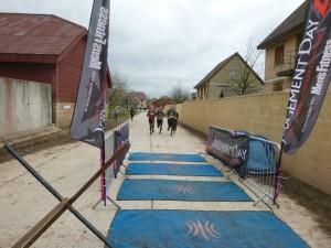 Coming across the finishing mats