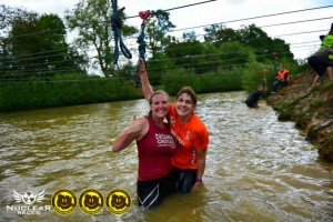 Laura and I at the end of the Zip lines