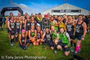 Some of the OCR family before the race. Photo courtesy of Tony Jarvis photography