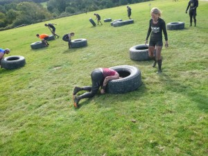 Tyred out during the race? Just find somewhere comfy and take a nap!
