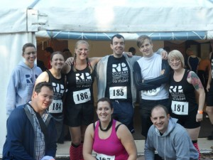 Before Warrior Run, a bunch of OCR newbies.