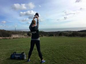Training on the Firehills